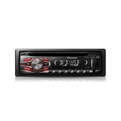 1DIN Магнитола Pioneer DVH-340UB (DVD)