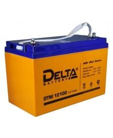 AGM Аккумулятор Delta DTM-12100