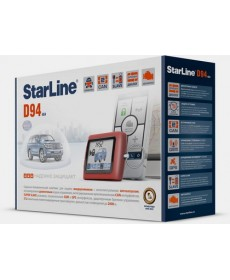 Сигнализация StarLine D94 GSM/GPS 2CAN 2SLAVE