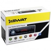 1DIN Магнитола Swat MEX-1007 UBB