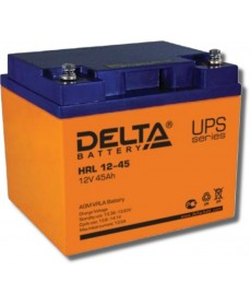 AGM Аккумулятор Delta HRL 12-45 (45 А/Ч)